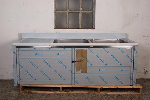 Spoelbak-RVS-met-schuifdeuren-200x70cm