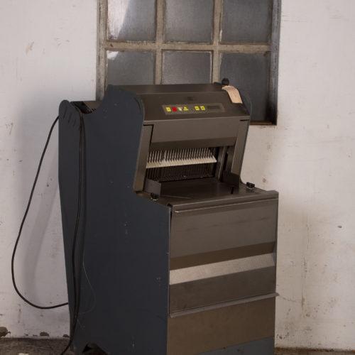 Broodsnijmachine 12,5mm ABO Automaat
