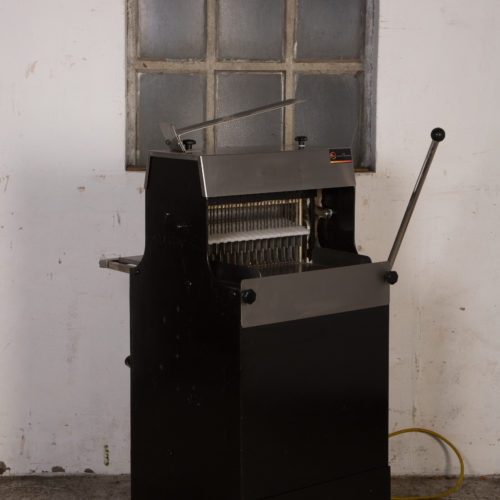 Broodsnijmachine 12,5mm Kalmeyer - ZWART